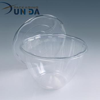 Customizing Clear Disposable Plastic Salad Box