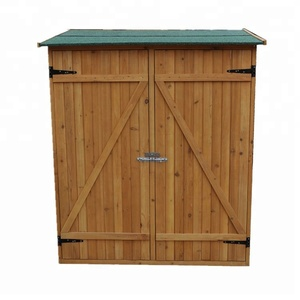 Wooden Garden Shed Wooden Lockers with Fir wood
