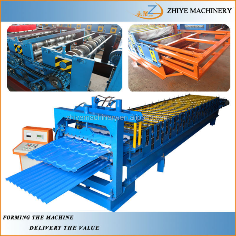 Double Layer Steel Roofing Tiles Rolling Forming Machine Manufacturer