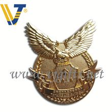 Promotional 2016 brass custom metal logo emblem