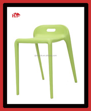 commercial furniture plastic pony stool horse stackable chair for restaurant