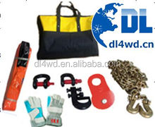 4x4 electrical winch accessories safety tool kits with carry bag