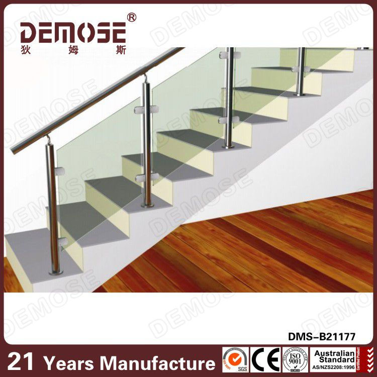 indoor chrome handrails for steps