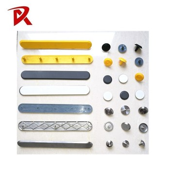 Road Safety Stainless Steel Tactile Indicators Stud for Blind road studs