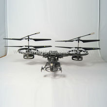 Avatar Style Scorpion Easy to fly with unique quad blade design rc army helicopter