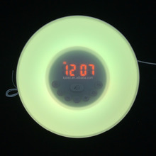 lighted table clocks led color change digital alarm clock
