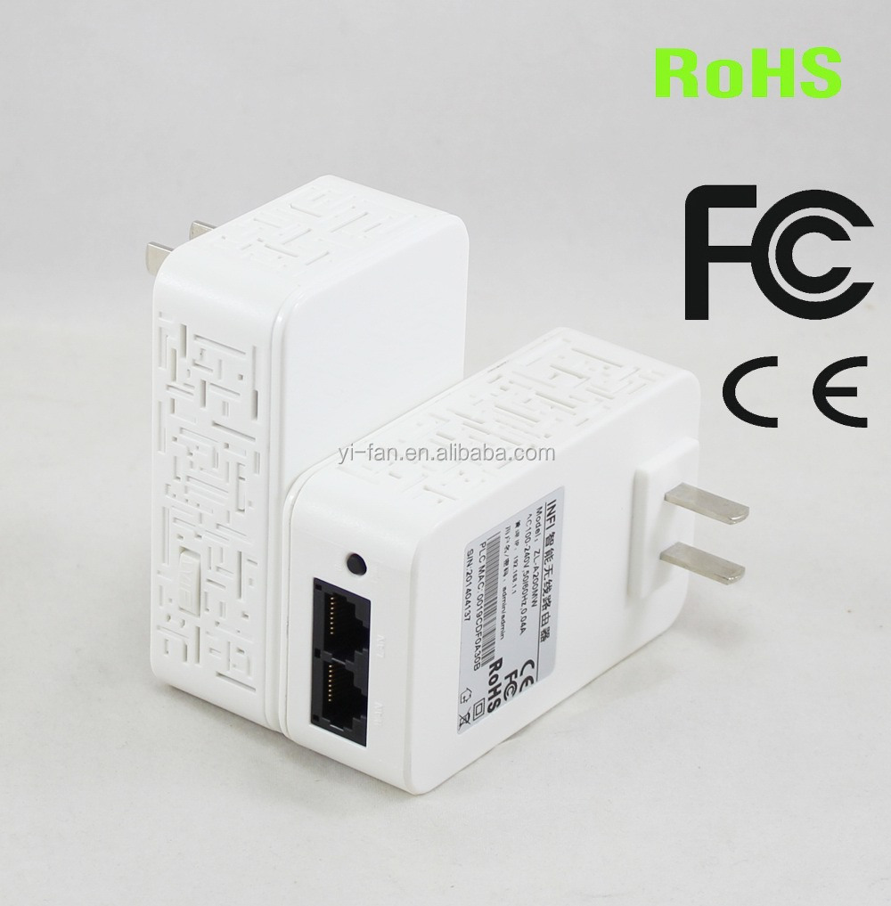 200Mbps Intelligent mini wireless power line adapter