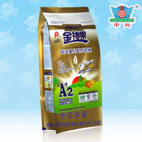 Side gusseted full cream milk powder packing plastic bag