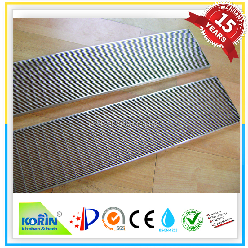 stainless steel outdoor drain grates