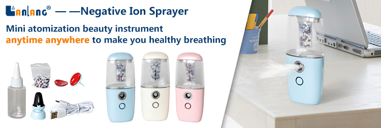 Chinese manufacturer negative ion fine mist sprayer