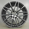 Size 19x8.5 19x9.5 inch PCD 5X120 5X108 Gunmetal machined polish Performance Light Flow forming alloy wheel rims