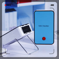 New product usb mini Portable Pocket heater fan For Promotional