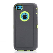 defender cover For Iphone 5c Shockproof Kickstand Hard phone Case