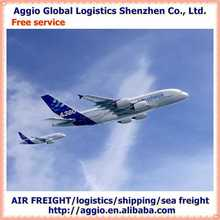 aggio International logistics courier service to los angels united state