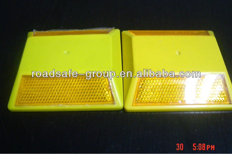 High reflective plastic traffic safety Road Studs