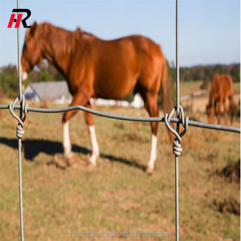 Wholesale high security galvanized or PEE coated horse fence