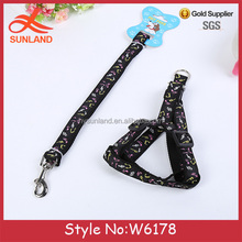 W6178 New fashion dog leash spring Dog harness adjustable Pet supplies