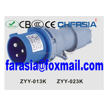 6H 2P+E 3P 16A/32A IP44 IP65 IP67 male and female industrial plug for socket coupler connector Economic type IEC/CEE CCC