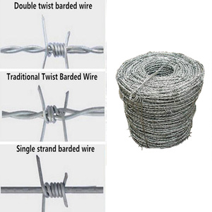 chinese factory export Professional supplier barbed wire roll price fence, barbed wire price per roll, barbed wire