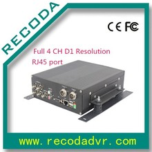 h.264 HDD black box 4 CH Full D1 Bus Mobile DVR
