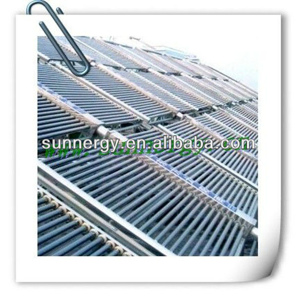 Vacuum Tube Unpressurized Swimming Pool Solar Collector