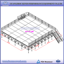 portable outdoor event stage design