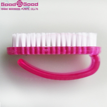 Durable Plastic polish brush wide Nail Cleaning Brush Dust Brush for Nail