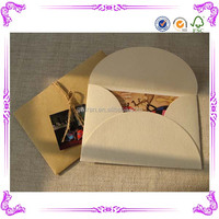 Hot sale kraft envelope&ticket envelopes&decorative cd envelopes