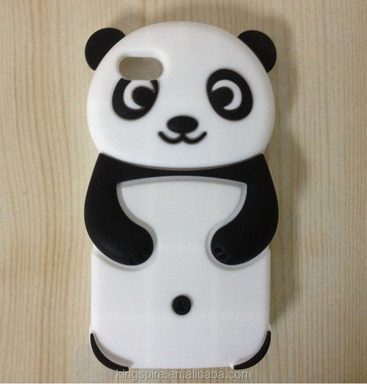 For iPhone 6s Phone Covers Chinese Panda Bears Giant Panda Silicone Phone Cases