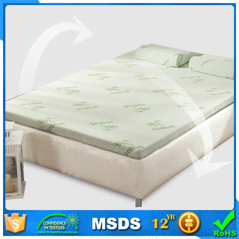Cheap king size bamboo memory foam mattress in a box