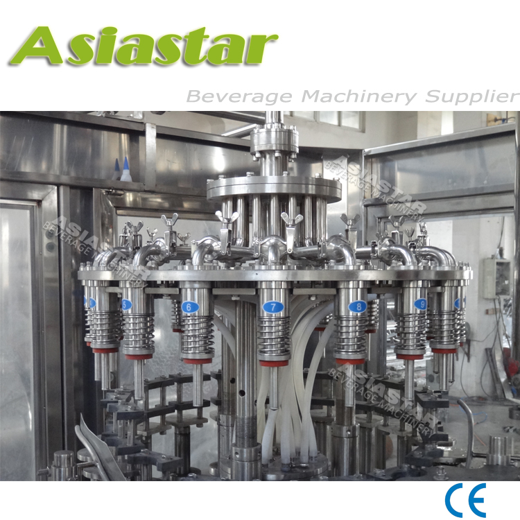 Fully automatic fruit juice filling machine processing plant