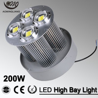 energy save light popular design 200w led round high bay light 200w