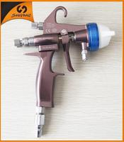 2015 ningbo china best tools PE double nozzle spray gun electrostatic sprayer hvlp spray guns