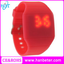 Kids fashion watch for celebrating merry christmas silicone band watch