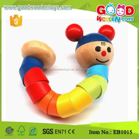 Intelligence Kids Bendy Spine Wooden Promotion Toy
