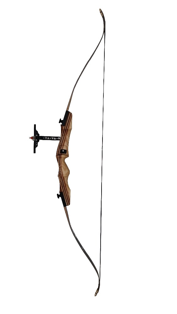 "WOOD RECURVE BOW SUIT Metal screw bow The novice with bow24""/20""/14"""