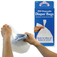 Strong and durable Very cheap Baby nappy sacks Made in China