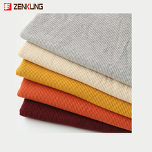 China supplier factory price cvc cotton polyester waffle knit fabric for home textile