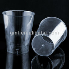 The hot sale disposable plastic clear round ice tumbler 7 oz / 200 ml *
