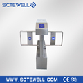 304 stainless steel rfid turnstile automatic swing barriers
