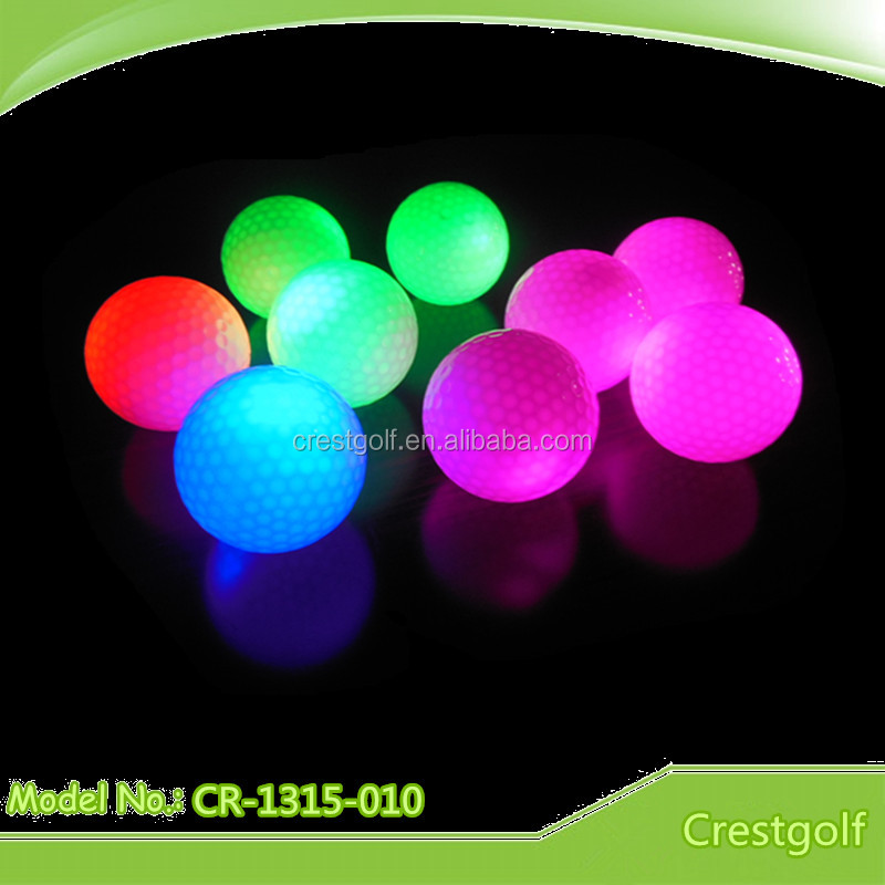 LED Light-Up Golf Ball Glow in the Dark Golf Ball