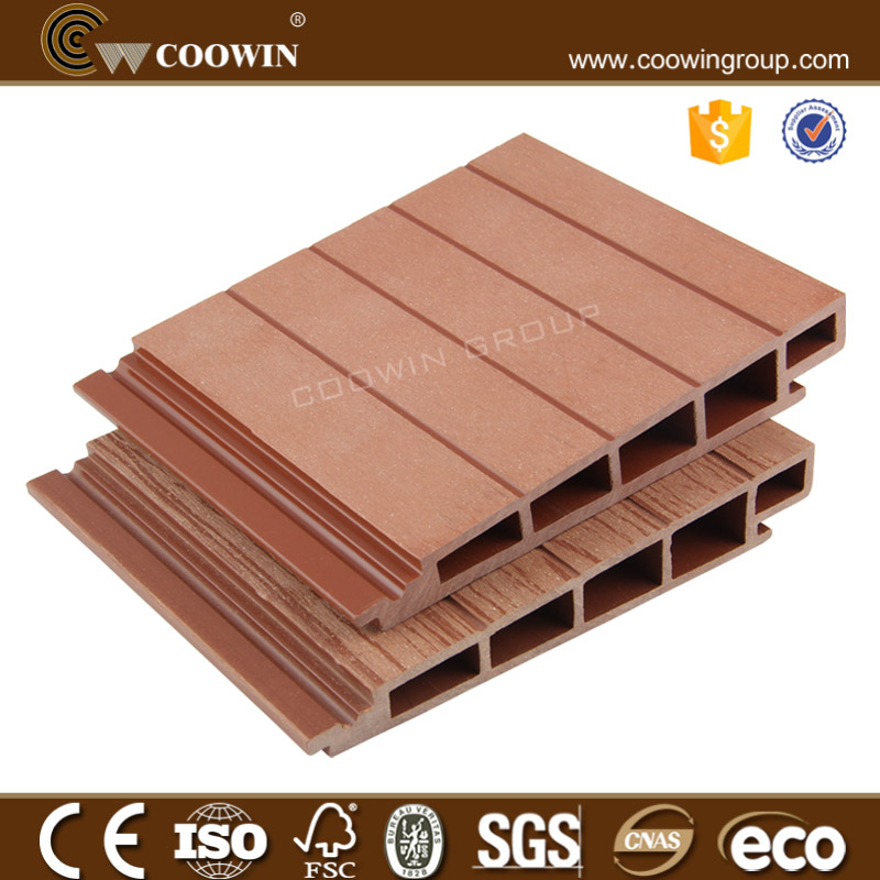 fiber decor outdoor wood plastic composite wall covering