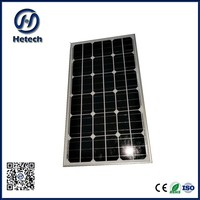 new design 6 by 6 cells 40w solar panel 12v at biger dimension