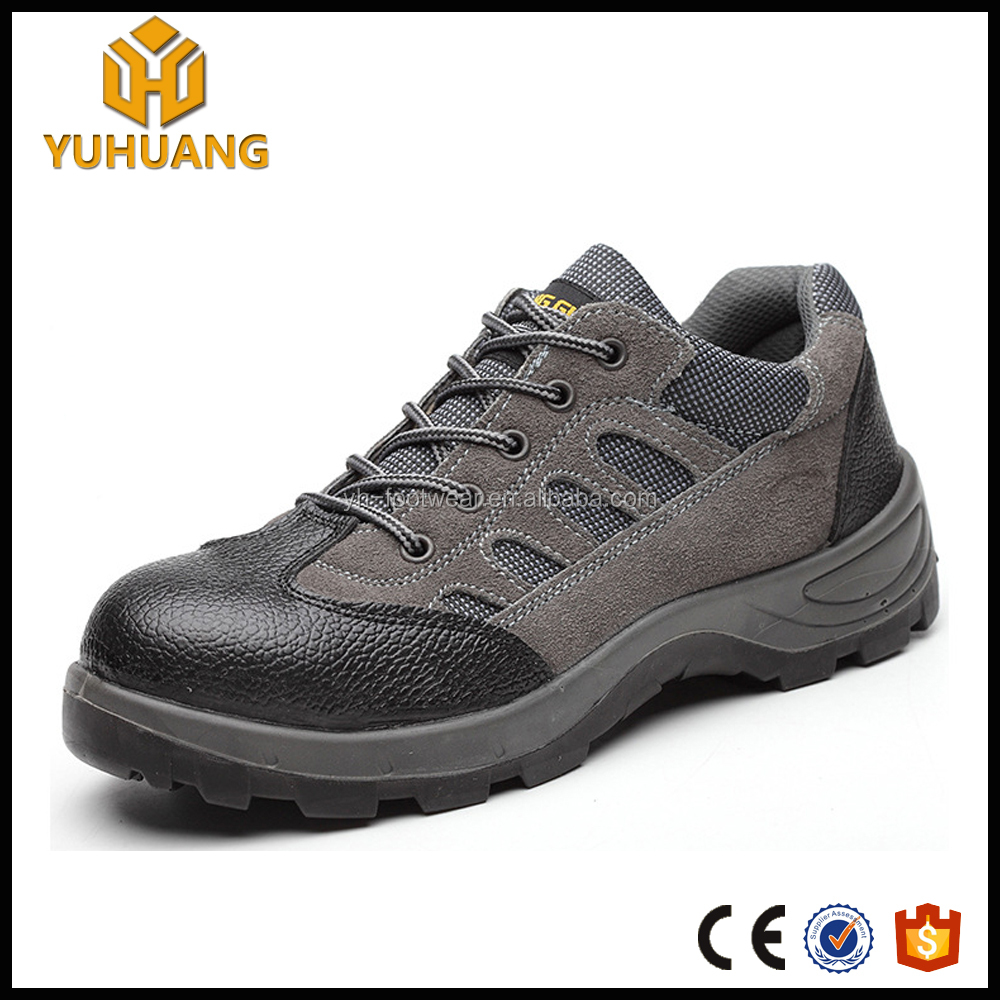 wholesale china shoes genuine leather safety shoes with steel toe cap