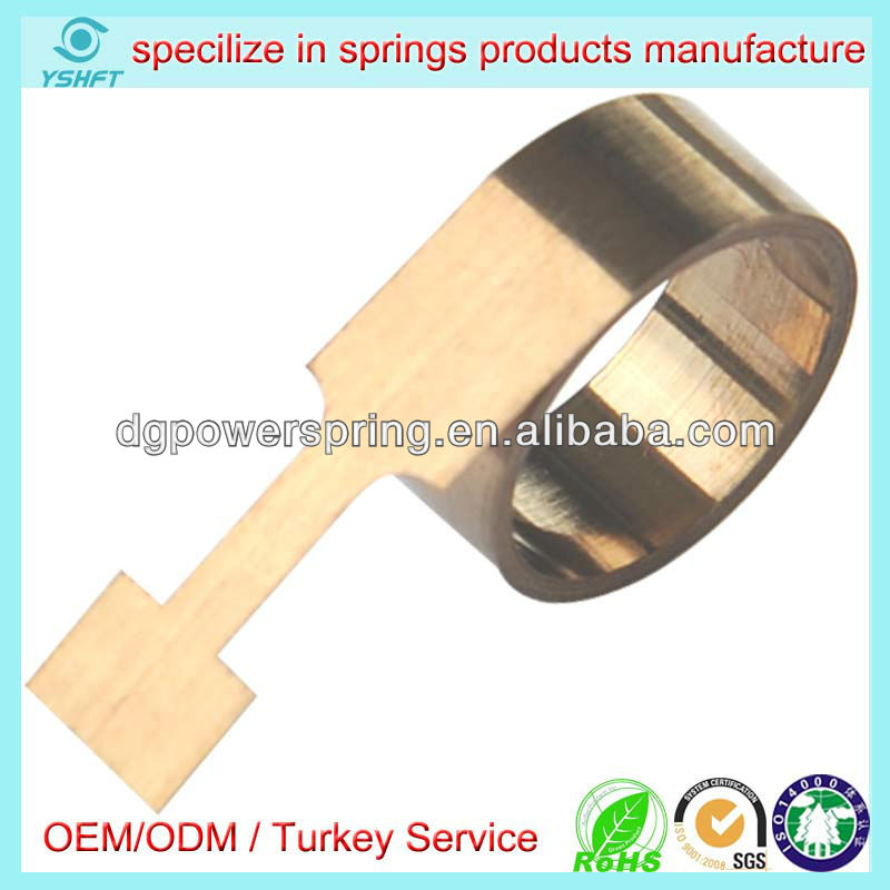 Exercise equipment springs constant force spring