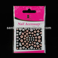 2013 Newly Design 3d nail seal stickers