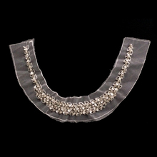 BOKA latest beaded applique ladies neck collars for wholesale BK-CL743