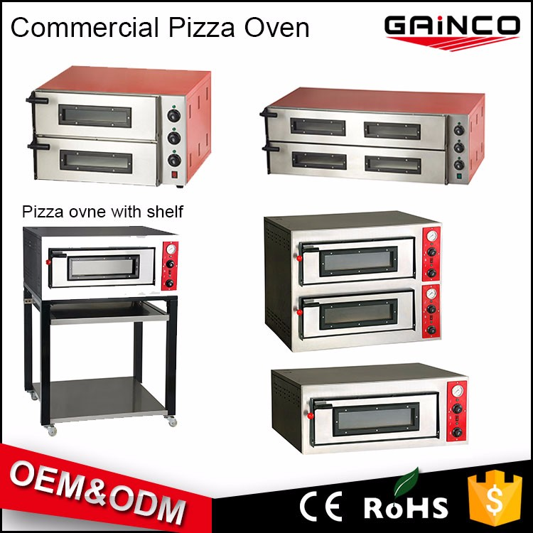 hot sale commercial pizza oven hotel kitchen equipment list