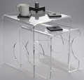 hot sale acrylic side table furniture