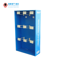 Floor cardboard display stands for mobile phone case/cellphone case retails